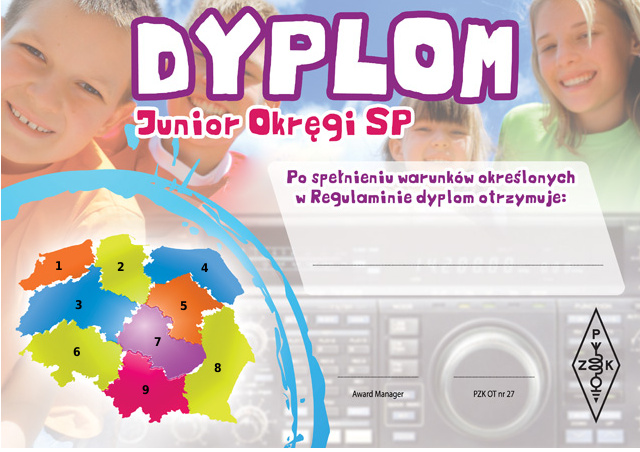 Dyplom Junior Okręgi SP